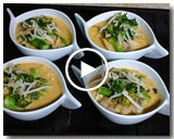 FISH AND BROCCOLINI LAKSA